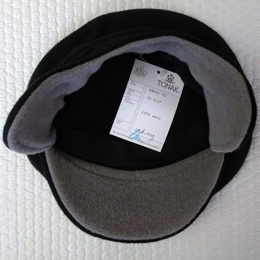 3430dc039288b1 Two very special berets, custom made by FEZCO-TONAK for South Pacific Berets.  These are prototypes for peaked berets with ear-flaps - a novel design to  ...